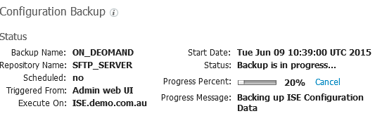 20150609_ISE_ON-DEMAND_BACKUP_Progress